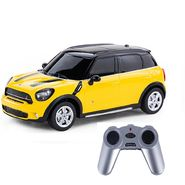 BMW Mini Countryman 1:24 Remote Control Toy Car Model - Dark Yellow