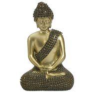 Shinny Gold Finish Buddha Idol Showpiece-REF1515