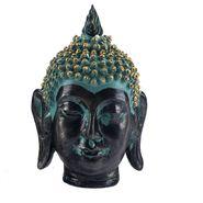 Black & Blue Combination Buddha Showpiece-REF1529
