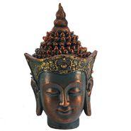 Shaded Pattern Beautiful Buddha Idol-REF1534