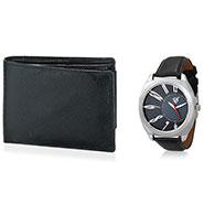 Combo of Rico Sordi Analog Wrist Watch + Wallet_12398208