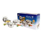Nano9 Insulated Casserole Designer 3pcs Gift Set Flora SS020