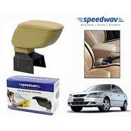 Speedwav Car Armrest Console Beige Color- Hyundai Accent