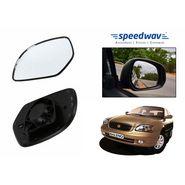 Speedwav Car Rear View Side Mirror Glass RIGHT-Maruti Baleno