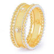 Sukkhi Sparkling Gold Plated Kada - Golden - 12039KADI1300