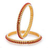 Sukkhi Artistically Gold Plated Bangles - Golden - 32017BGLDPV850