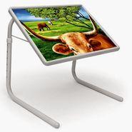 Shoper52 Designer Portable Adjustable Dinner Cum Laptop Tray Table-TABLE011