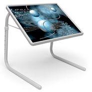 Shoper52 Designer Portable Adjustable Dinner Cum Laptop Tray Table-TABLE055