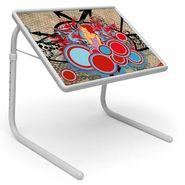 Shoper52 Designer Portable Adjustable Dinner Cum Laptop Tray Table-TABLE092