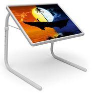 Shoper52 Designer Portable Adjustable Dinner Cum Laptop Tray Table-TABLE099