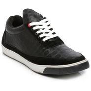 Ten Black Leather Sneakers -mtj20