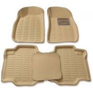 3D Foot Mats for Tata Tiago Black Color-TGS-3D Black 131