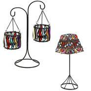 Set of 2 Beautifully Designed Tealight Holders-TLT1417_TLT1418