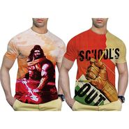 Pack of 2 Graphic Printed Tshirt by Effit_TRP0501