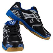 V22 Badminton Court Black and Grey Shoes Size - 10