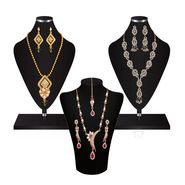 Combo of 2 Variation Necklace Sets + 1 Chain Pendent Set_Vd15712