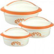 Rishabh Plast Elegant Casserole Set Of 3