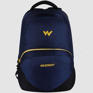 Wildcraft Polyester Blue Laptop Bag -sw01
