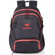 Wildcraft Nylon Black Backpack -sw04