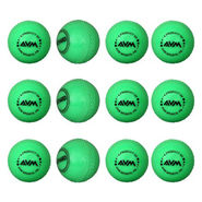 AVM Green Windball 16 Cricket Ball Size Standard, Dia 6.5 cm - 12 Pcs
