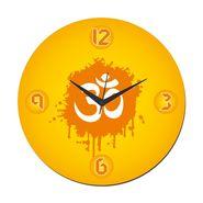 meSleep Om Wall Clock With Glass Top-WCGL-01-19