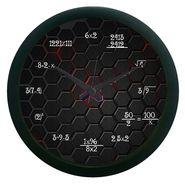 meSleep Black Mathematics  Wall Clock (With Glass)-WCNW-02-20