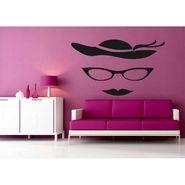 Funny Face Decorative Wall Sticker-WS-08-050