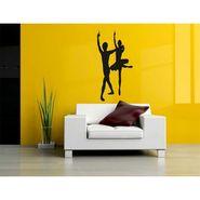 Dancing Couple Decorative Wall Sticker-WS-08-059