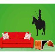 Horse Rider Decorative Wall Sticker-WS-08-069