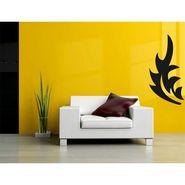 Black Leaf Decorative Wall Sticker-WS-08-096