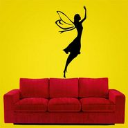 Black Angel Decorative Wall Sticker-WS-08-188