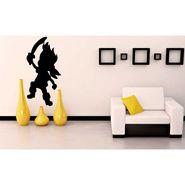 Black Funny Baby Decorative Wall Sticker-WS-08-197
