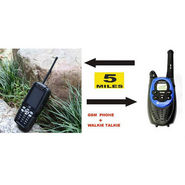 NPC GSM/TV Phone Paired With Walkie Talkie - Black
