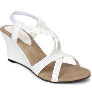 Do Bhai Patent Wedges Wedges-400-White