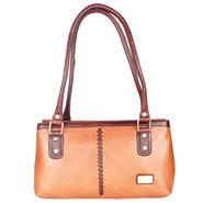 Xccess Genuine Leather Tan Handbag -Xlhb10