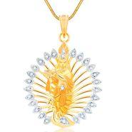 Spargz Spiritual Krishna Studded Pendant_Aip095