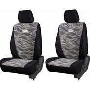 Branded Printed Car Seat Cover for Hyundai Eon - Black