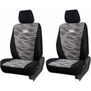 Branded Printed Car Seat Cover for Skoda Rapid - Black