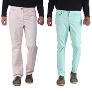 Pack of 2 imFab Plain Cotton Chinos_CHN_SS001