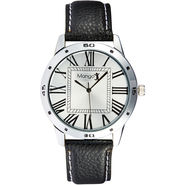 Mango People Analog Round Dial Watch For Men_mp006 - Silver