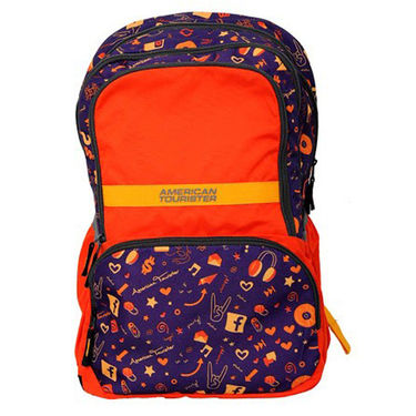 American Tourister Polyester Backpack Hoola 2 Orange