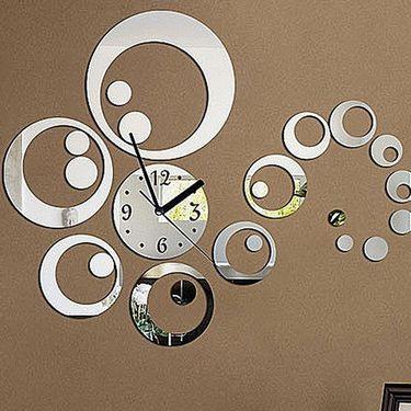 DIY Wall Clock 3D Sticker -0434S