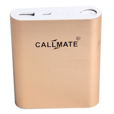 Callmate Power Bank Alloy 10400 mAh - Gold
