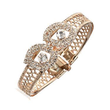 Kriaa Combo of 5 Jewellery Set With Free Earring & kada