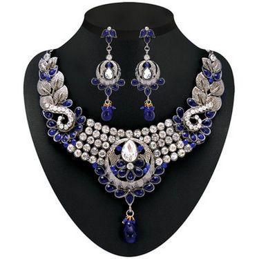 Kriaa Combo of 5 Jewellery Set With Free Manglasutra & Earring