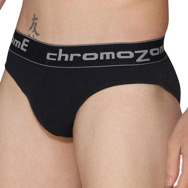 Pack of 3 Chromozome Regular Fit Briefs For Men_10030 - Multicolor