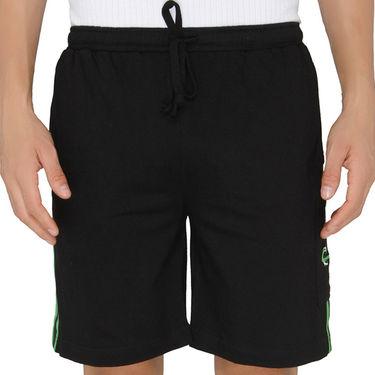 Chromozome Regular Fit Shorts For Men_10268 - Black