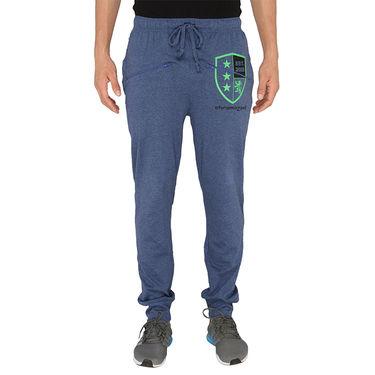 Chromozome Regular Fit Trackpants For Men_10465 - Blue