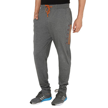 Chromozome Regular Fit Trackpants For Men_10519 - Grey