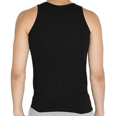 Chromozome Regular Fit Vest For Men_10548 - Black